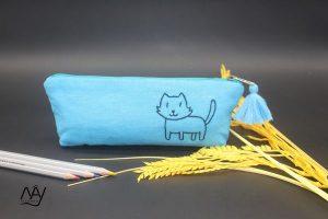 túi vải handmade hình con chó 1