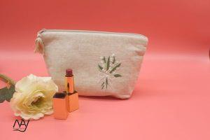 túi vải handmade hình hoa linh lan 1