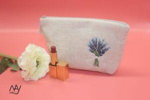 túi vải handmade hình lavender 3