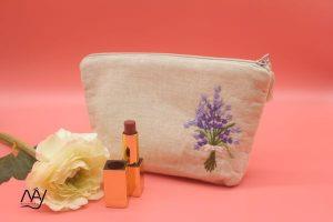 túi vải handmade hình lavender